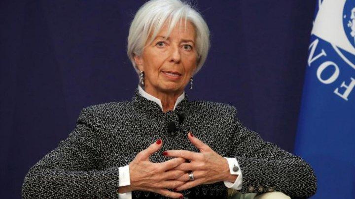 Avionul în care se afla directoarea FMI, aterizare de urgenţă la scurt timp după decolare