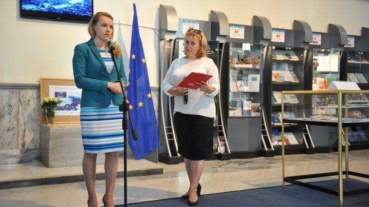 """La Chișinău a fost lansată expoziția """"Consiliul Europei - Republica Moldova: realizări și priorități"""""""