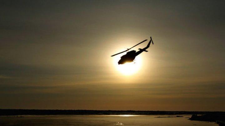 Un elicopter s-a prăbuşit în Beijing: Patru persoane au fost rănite
