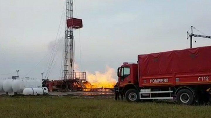 Explozie la o sondă de extracţie a gazelor naturale din România. Un angajat, rănit grav