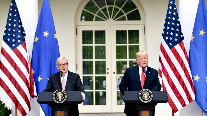 Statele Unite şi Europa au ajuns la o înţelegere privind reducerea taxelor vamale