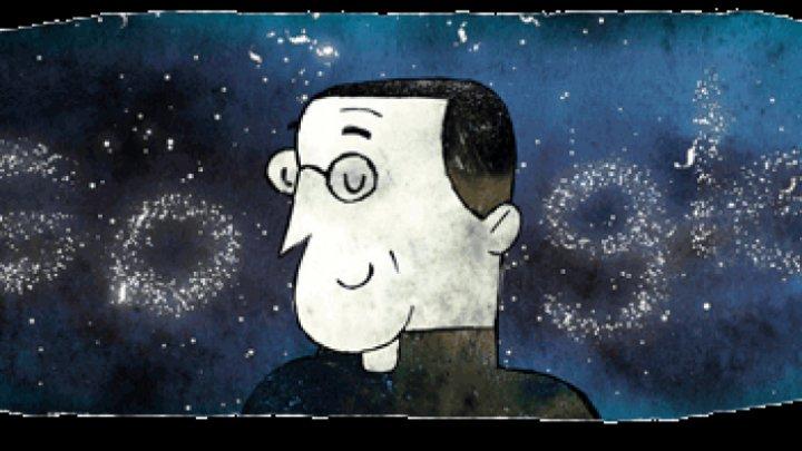 Georges Lemaître, creatorul Big-Bang, celebrat de Google Doodle