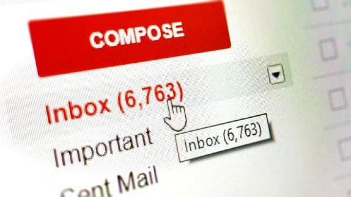 Gmail a PICAT în mai multe ţări, pentru a doua oară. Cauza, necunoscută deocamdată