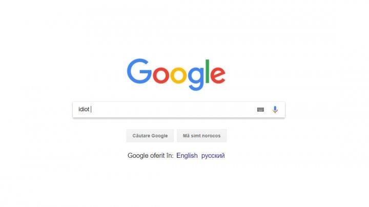 """NO COMMENT: Cei care tastează cuvântul """"idiot"""" în Google vor avea o surpriză"""