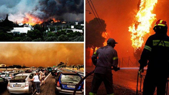 Numărul morților a ajuns la 87, în urma incendiului care a afectat staţiunile Mati şi Rafina