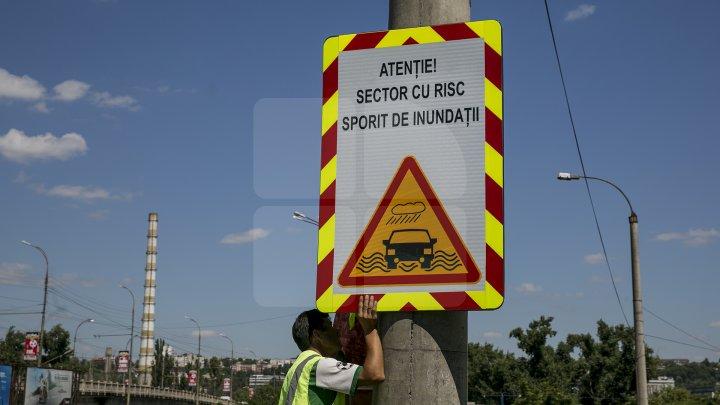ATENŢIE ŞOFERI! Un indicator nou a apărut în Capitală. Ce semnifică acesta (FOTOREPORT)