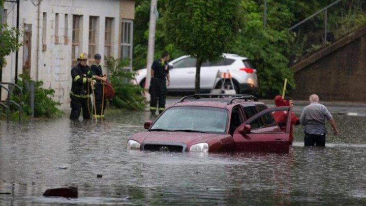 PUBLIKA WORLD: Inundaţii devastatoare în Massachusetts (VIDEO)