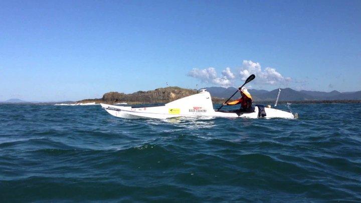 Scott Donaldson, performanţă unică. Neozeelandezul a devenit primul om care a străbătut singur, într-un caiac, marea Tasmaniei