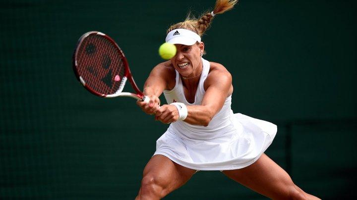 Jucătoarea germană de tenis Angelique Kerber, prima finalistă a turneului feminin de la Wimbledon