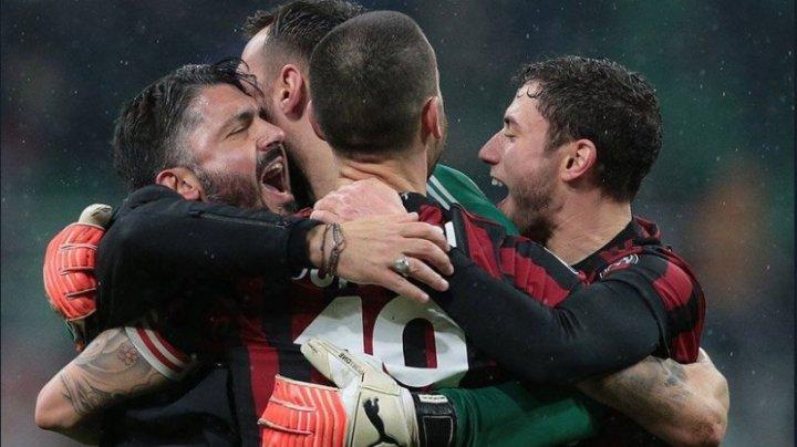 SANCȚIUNE ANULATĂ! AC Milan a fost readmis în cupele europene inter-cluburi