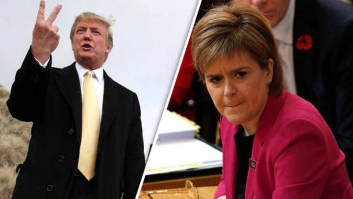 Prim-ministrul scoţian refuză să se întâlnească cu Donald Trump