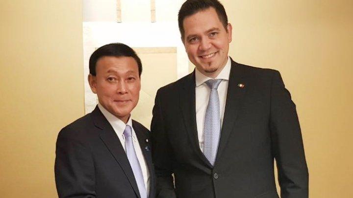 În Dieta niponă va fi constituită Liga de prietenie parlamentară Republica Moldova - Japonia