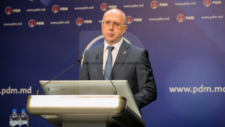 Pavel Filip de ziua Independenţei Republicii Moldova: Dacă vom trage în direcţii diferite, nu vom reuşi, doar ÎMPREUNĂ, UNIŢI pe acelaşi drum