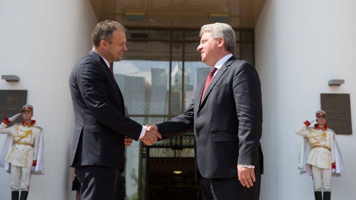 Andrian Candu: Moldova este interesată de experiența Macedoniei în avansarea pe calea integrării europene