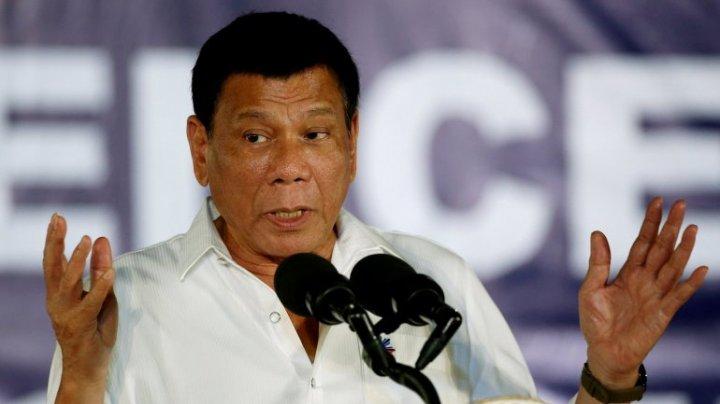 Preşedintele filipinez Duterte promite că va continua războiul rece şi neobosit împotriva drogurilor