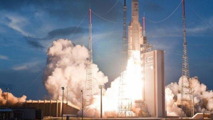 Guyana Franceză a lansat o rachetă Ariane 5 cu patru sateliţi din sistemul Galileo la bord