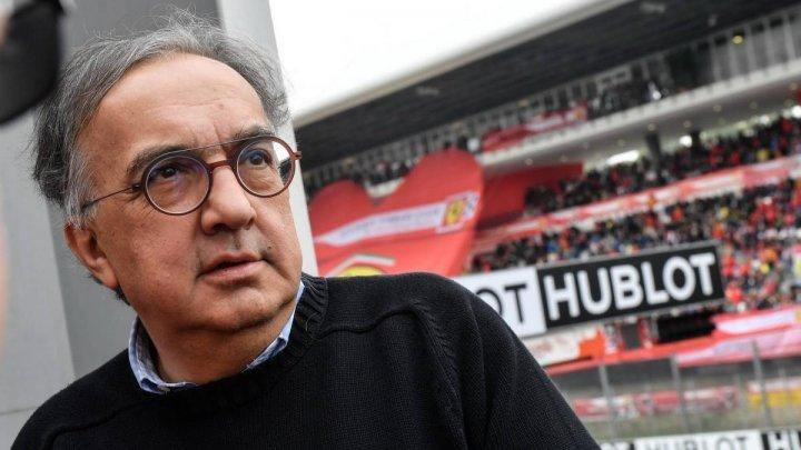 A murit Sergio Marchionne, fostul director executiv al companiei Fiat Chrysler