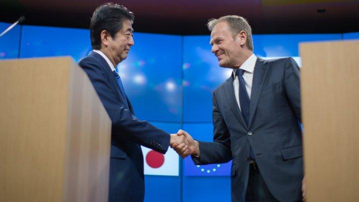 Japonia şi Uniunea Europeană au semnat cel mai mare acord bilateral încheiat vreodată