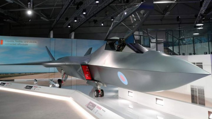 Marea Britanie va investi 2,26 miliarde de euro pentru construirea unei aeronave de luptă numită Tempest