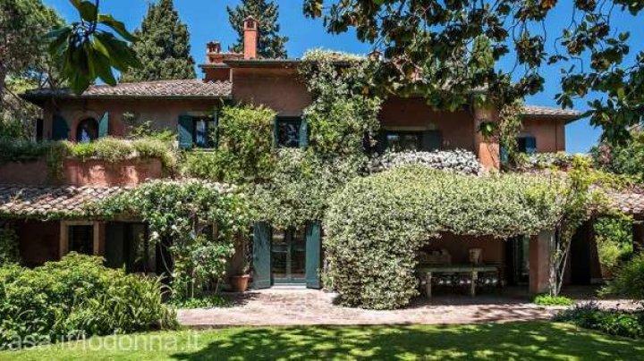 Vila din Roma a producătorului italian Carlo Ponti a fost scoasă la vânzare pentru 19 milioane de euro