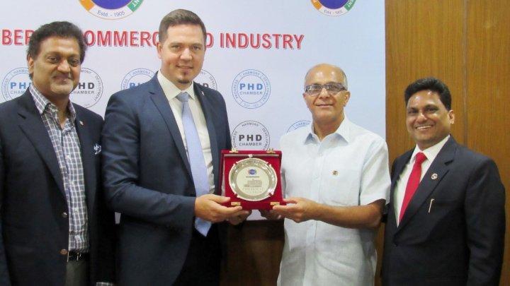 Republica Moldova este interesată în sporirea exporturilor moldoveneşti pe piaţa indiană și atragerea tehnologiilor indiene în țara noastră