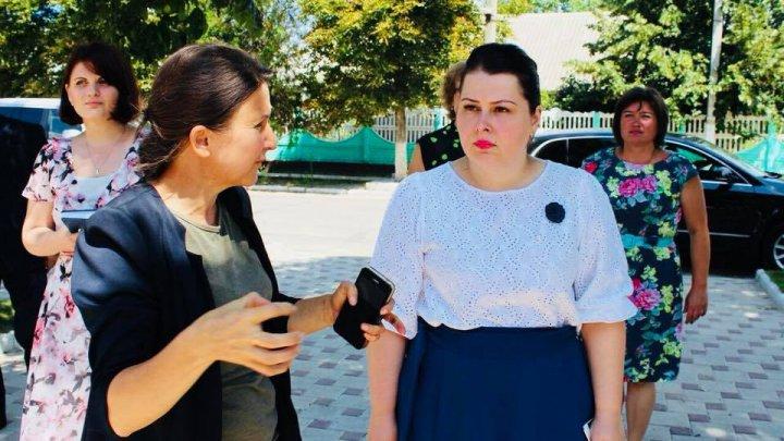 Cristina Lesnic, în vizită la Dubăsari. Ce probleme a abordat viceprim-ministrul