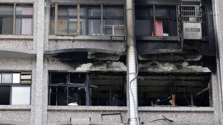 Incendiu de proporţii într-un spital din Taiwan. Cel puţin nouă morţi şi 16 răniţi