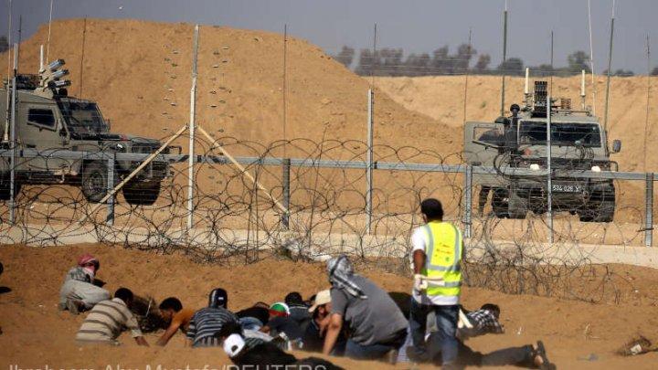 Israelul a închis un punct pietonal de trecere a frontierei cu Fâşia Gaza