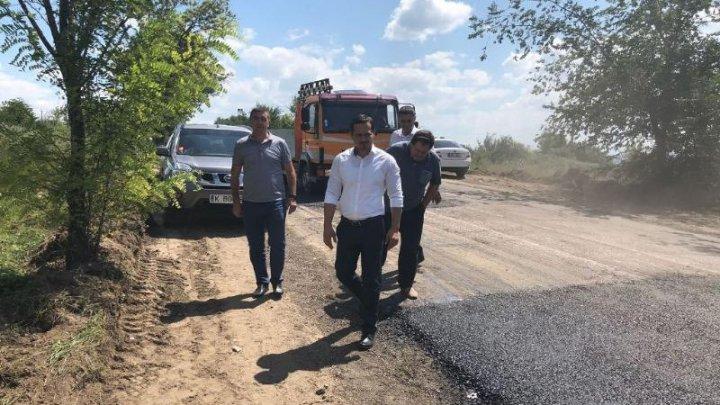 Drumul de acces către comuna Bubuieci va fi reabilitat