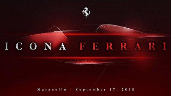 Ferrari ar putea lansa un model nou în septembrie