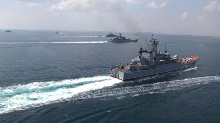 O fregată rusă a efectuat trageri cu muniţie de război în Marea Neagră