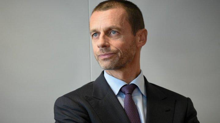 Federaţiile nordice îl susţin pe Aleksander Ceferin pentru un nou mandat în fruntea UEFA