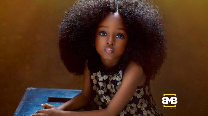Cum arată cea mai frumoasă fetiţă din lume. Are doar 5 ani și a cucerit deja Internetul (FOTO)