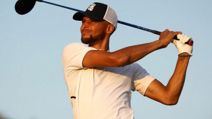 Stephen Curry şi-a terminat evoluţia la un prestigios turneu de golf