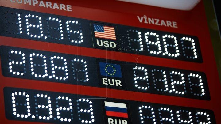 Valuta naţională continuă să crească! Cât va costa mâine un euro şi un dolar