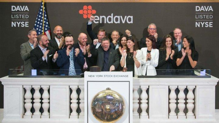 ENDAVA, un furnizor de soluţii IT, cu operaţiuni masive şi în Moldova, s-a listat la Bursa din New York (FOTO)