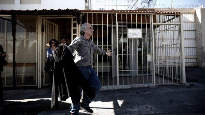 Guvernul elen l-a mutat pe liderul unei grupări teroriste de extremă stângă într-o închisoare de lux