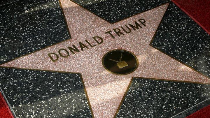 Steaua lui Donald Trump ar putea fi scoasă de pe cunoscutul bulevard Walk of Fame