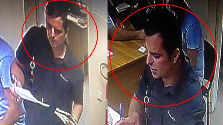 ATENŢIE! Poliţia caută bărbatul din imagini. A luat 11.500 lei și nu și-a onorat obligația