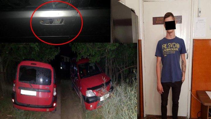 Un minor din Chișinău, reținut de poliție pentru că ar fi furat opt automobile în 2018. Ce pedeapsă riscă