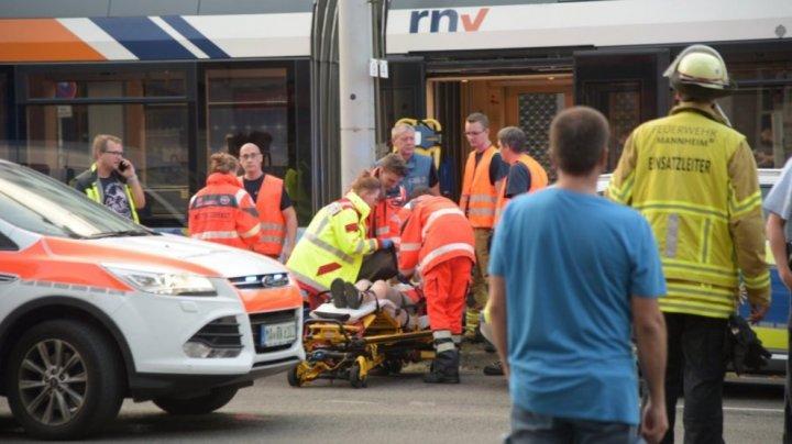 20 de răniţi după ce două tramvaie s-au ciocnit în oraşul Mannheim din Germania
