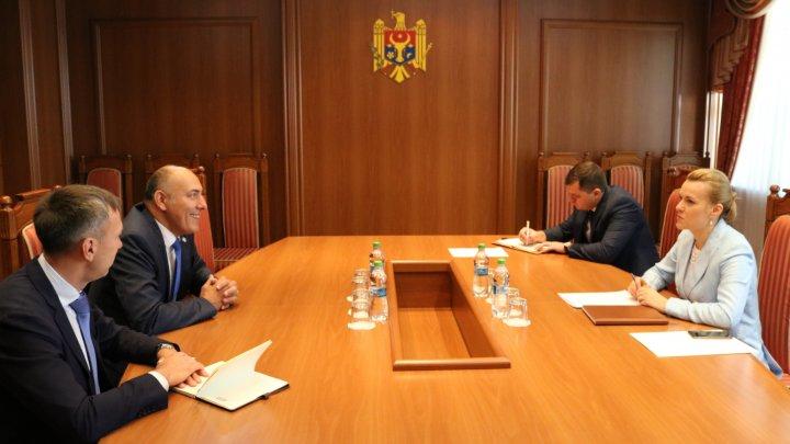Noul ambasador al Republicii Lituania la Chișinău a prezentat copiile scrisorilor de acreditare