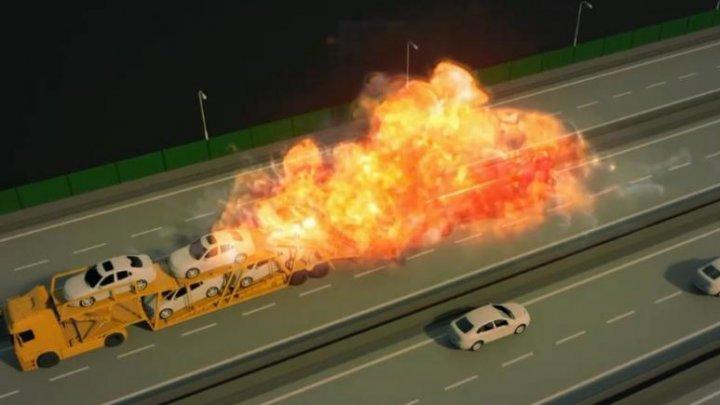 GRAFICA exploziei de la Bologna. DEZASTRUL s-a petrecut în mai puțin de un minut