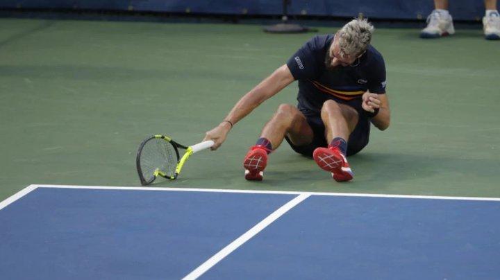 Nervi întinşi la maximum pe terenul de tenis. Benoit Paire a distrus trei rachete în timpul meciului cu Marcos Baghdatis