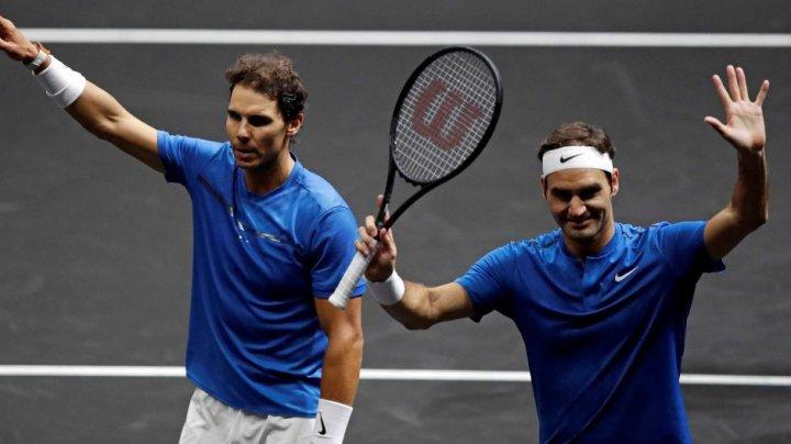 Roger Federer şi Novak Djokovic, într-o echipă la turneul de tenis Laver Cup