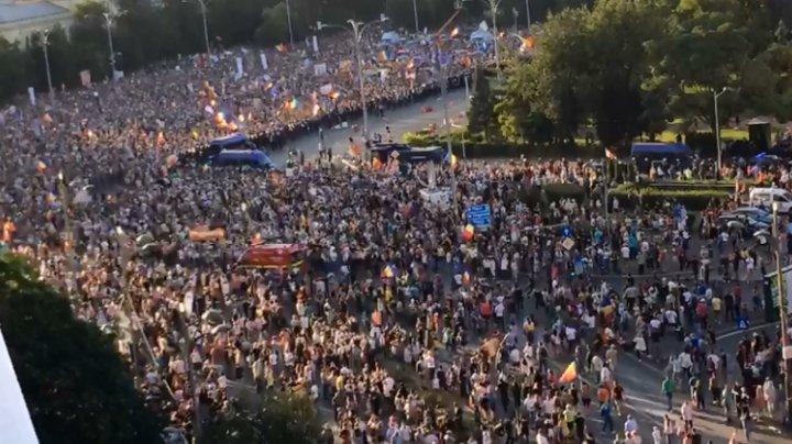 Şefi din Jandarmeria română, PUŞI SUB ACUZARE după protestul din 10 august