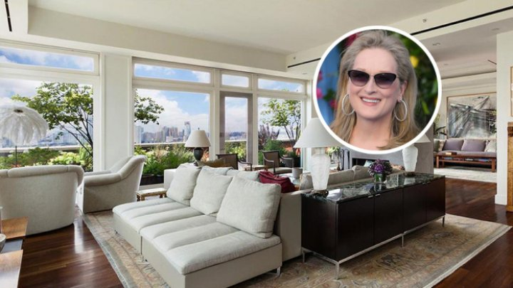 Actriţa Meryl Streep îşi vinde apartamentul din centrul New Yorkului. Cum arată penthouse-ul (FOTO)