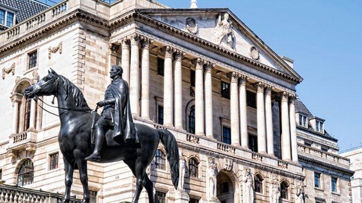 Banca Angliei a majorat rata dobânzii la cel mai ridicat nivel din ultimii 9 ani