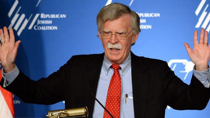 John Bolton: Sancţiunile SUA vor rămâne în vigoare până când Rusia îşi va schimba comportamentul