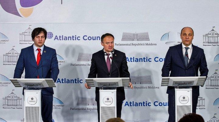 Candu: Prima şedinţă parlamentară trilaterală Moldova-Georgia-Ucraina va avea loc la sfârşitul lunii septembrie